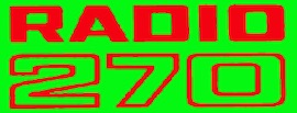 Radio 270 logo in green